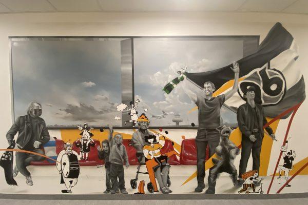 Graffiti Sporthalle Langenhagen
