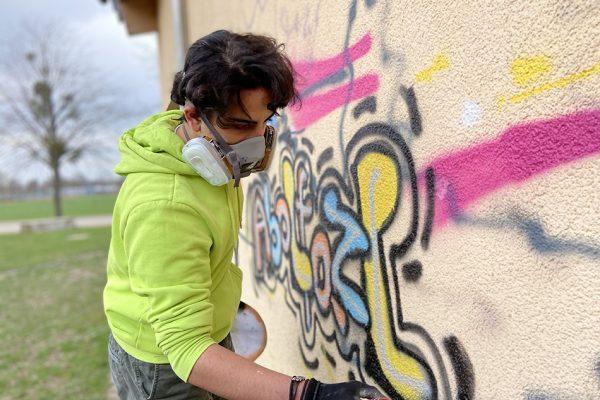 Graffiti JUZ Springe