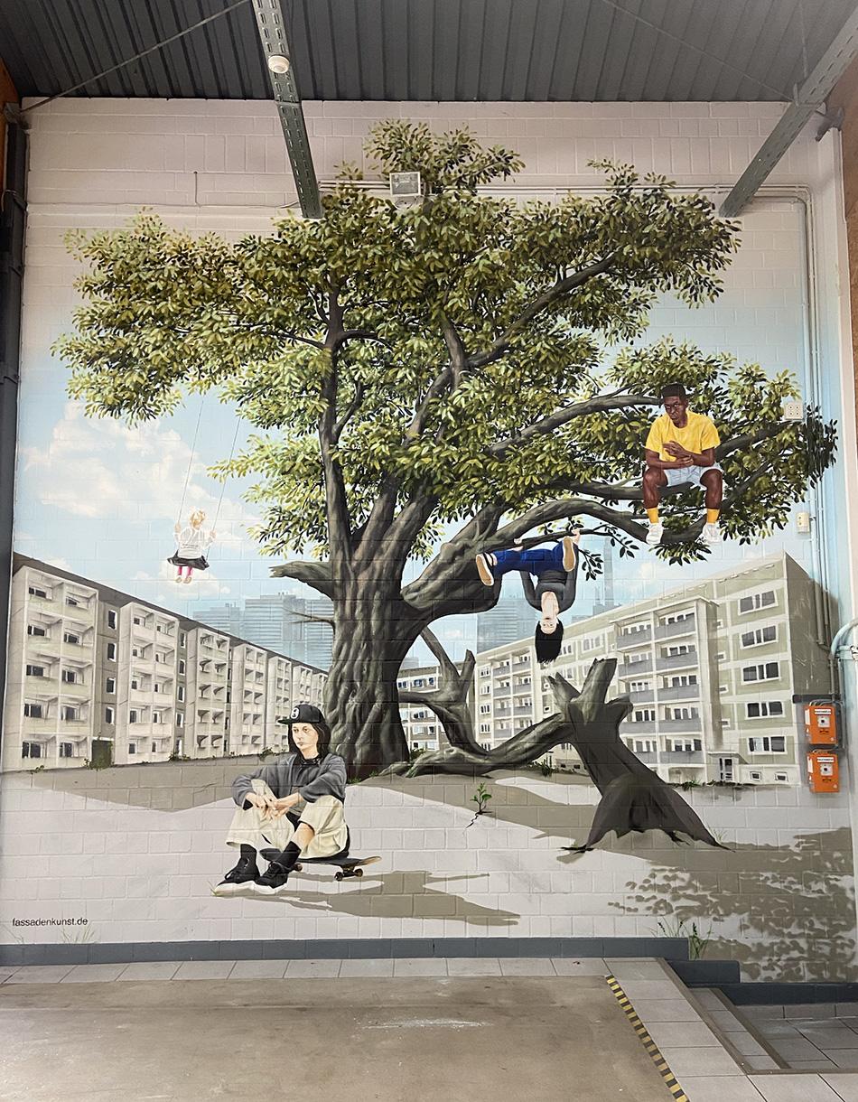 Graffiti in Hildesheim